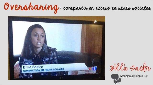 Oversharing: compartir en exceso en Redes Sociales