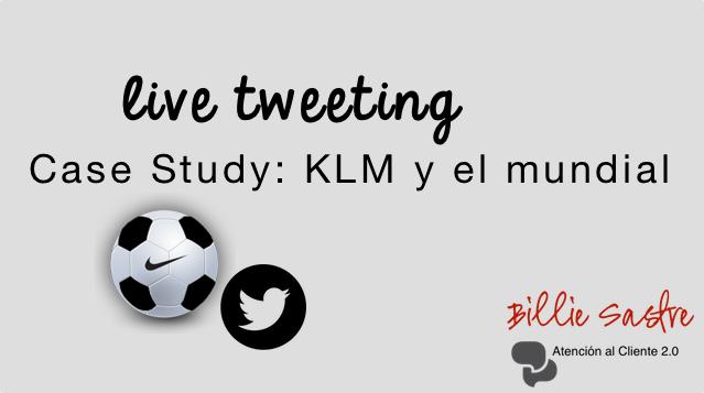 Live tweeting, cuando las cosas no salen bien: Case Study