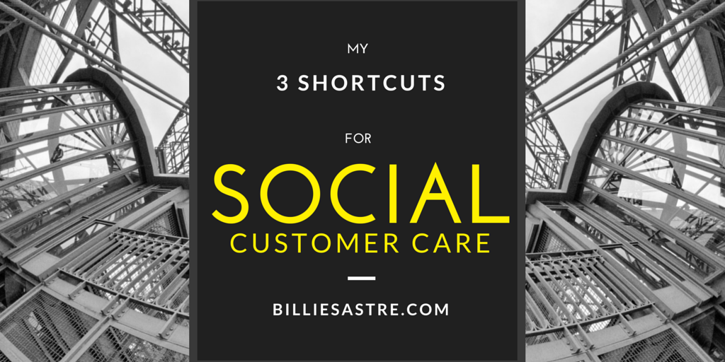 3 main shortcuts for Social Customer Care