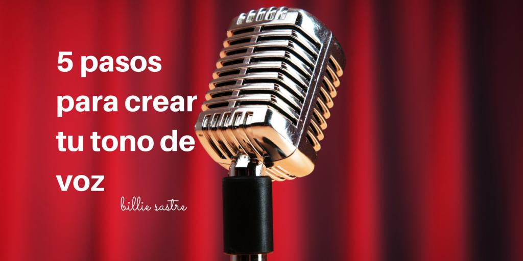 Cómo crear un tono de voz para tu marca