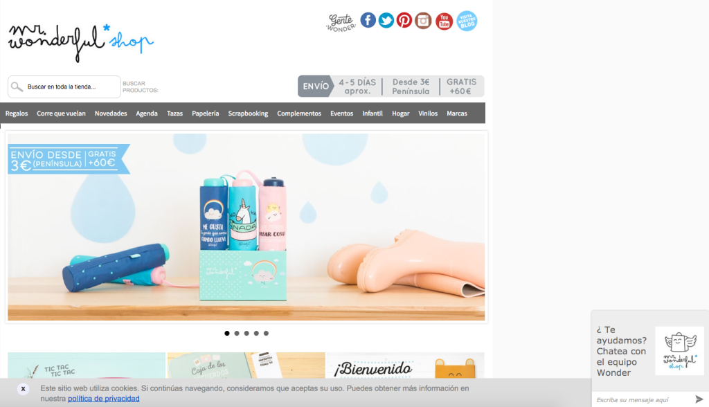 Servicio al cliente en tu ecommerce: caso Mr. Wonderful