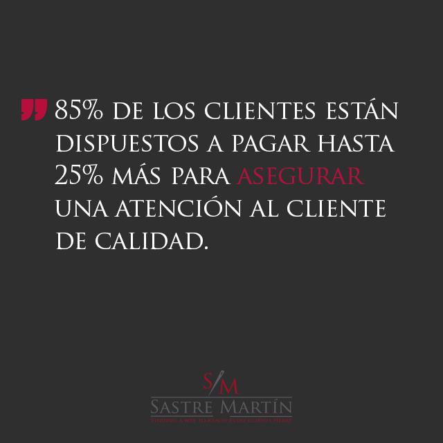 atencion al cliente de calidad