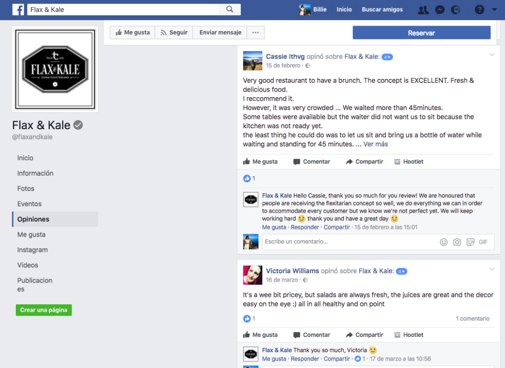 Comentarios Facebook