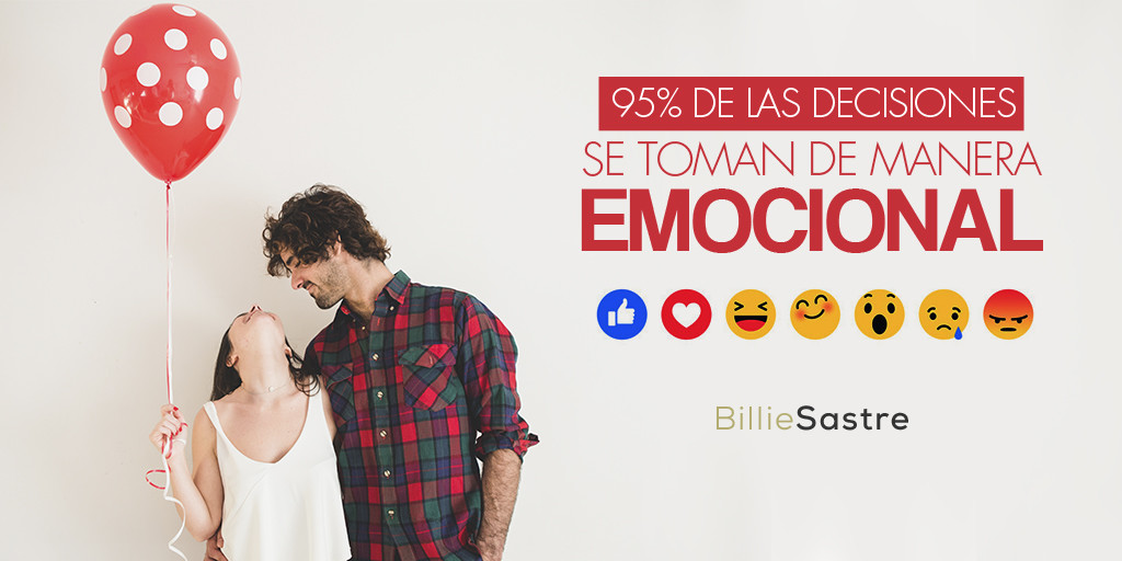 decisiones emocionales billie sastre