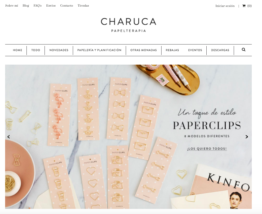 Charuca -website
