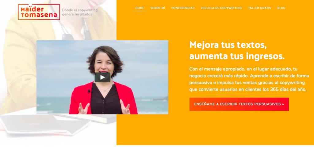 web Maider Tomasena