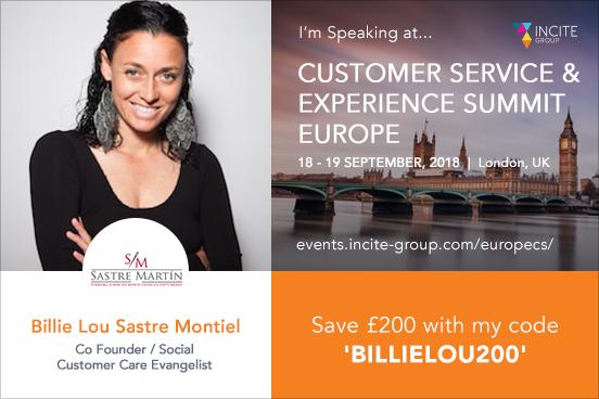 Customer Service Summit: Londres 18 y 19 de septiembre