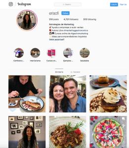 Compartir imagenes de comida antes de comer